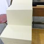 Blanco orgelkarton