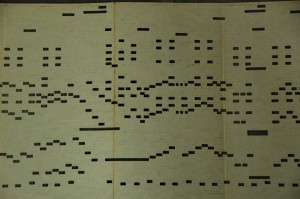 Gekapt orgelboek
