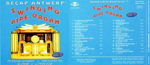 SWINGING PIPE ORGAN (Vol. 2) - inlay
